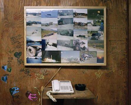 Ben Huff, 'mile 250, crash board, Coldfoot', 2008