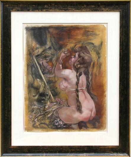 George Grosz, 'Aroused', 1940