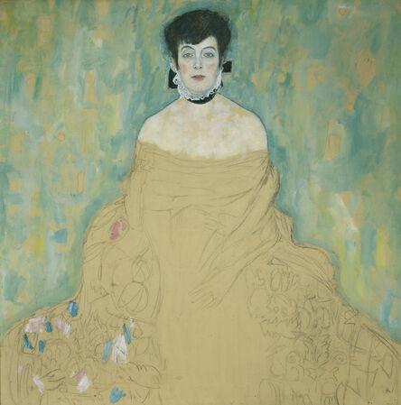 Gustav Klimt, 'Portrait of Amalie Zuckerlandl', 1917-1918