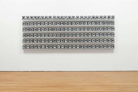 Allan McCollum, 'The Shapes Project, Collection of One Hundred and Forty-four Monoprints', 2006