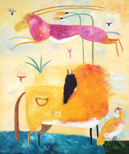 Valentina DuBasky, 'Himalayan Horse and Gazelle', 2016