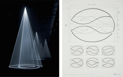 Anthony McCall, 'Study For Breath III', 2004