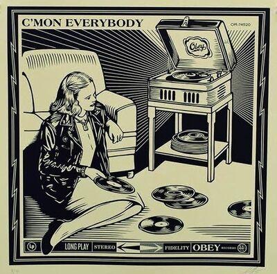 Shepard Fairey, 'C'mon Everybody', 2014