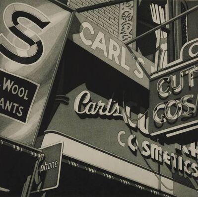 Robert Cottingham, 'CARL'S', 1977