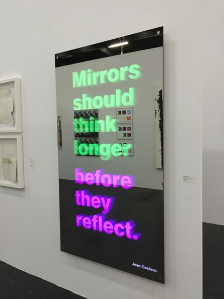Michael Schuster, 'Mirrors should think longer before they reflect (Jean Cocteau)', 2015