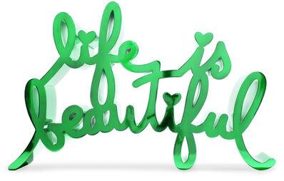Mr. Brainwash, 'Life is Beautiful - Hard Candy Green (ES20-LIB17_HC-G [MBW]', 2020