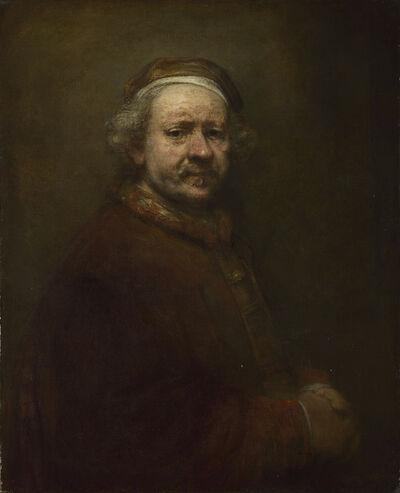 Rembrandt van Rijn, 'Self Portrait at the Age of 63', 1669