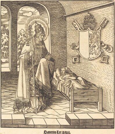 Leonhard Beck, 'Saint Leo (Pope Leo IX)', 1516/1518