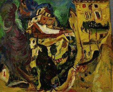 Chaim Soutine, 'Landscape in Cagnes (La Gaude, France)', ca. 1923