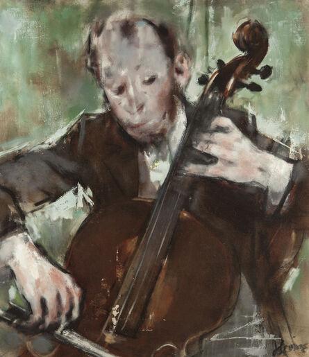 Jack Levine, 'Cellist'