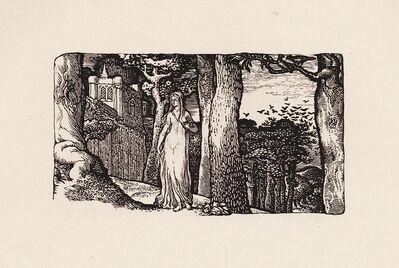 Edward Calvert, 'The Lady and the Rooks', 1829 (published 1893)
