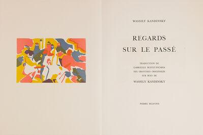 Wassily Kandinsky, 'Regards sur le Passé, Portfolio', 1971
