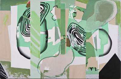 Luis Gordillo, 'El amor entre las plantas', 2014