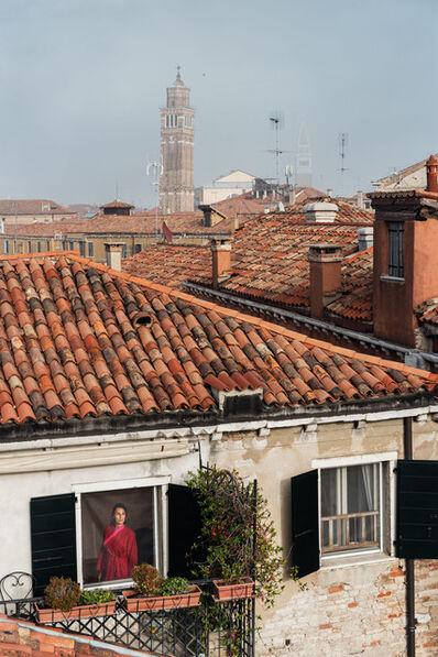 Gail Albert Halaban, 'Red Kimono, San Marco, Venice, October', 2017