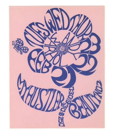 Andy Warhol, 'My Hustler and Beauty No. 2 (Extremely rare movie flyer)', 1966