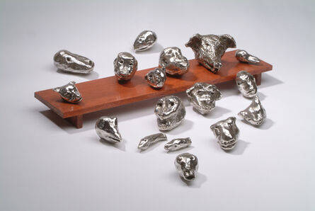 Susan Rothenberg, '17 Heads', 2003