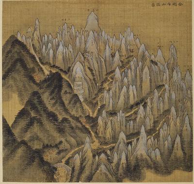 Jeong Seon, 'Album of Mt. Geumgang', 1711