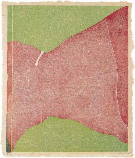 Helen Frankenthaler, 'Savage Breeze', 1974