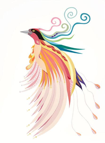 Fulvia Mendini, 'L'uccello del paradiso', 2018