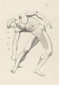 after John Flaxman, 'Tydaeus', published 1838