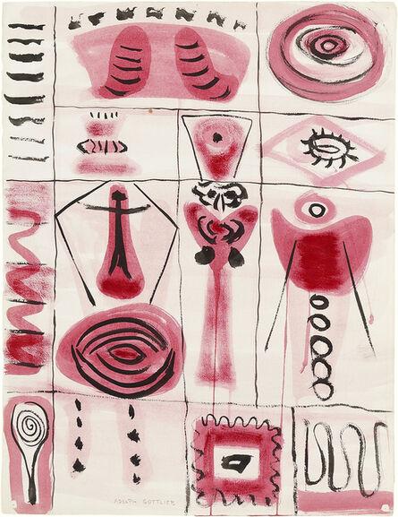 Adolph Gottlieb, 'Untitled', 1949