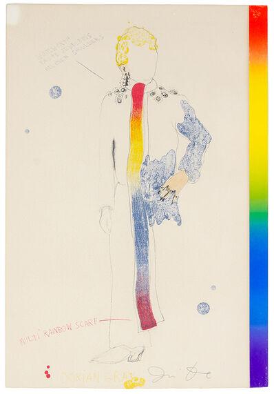 Jim Dine, 'Dorian Gray with Rainbow Scarf', 1968