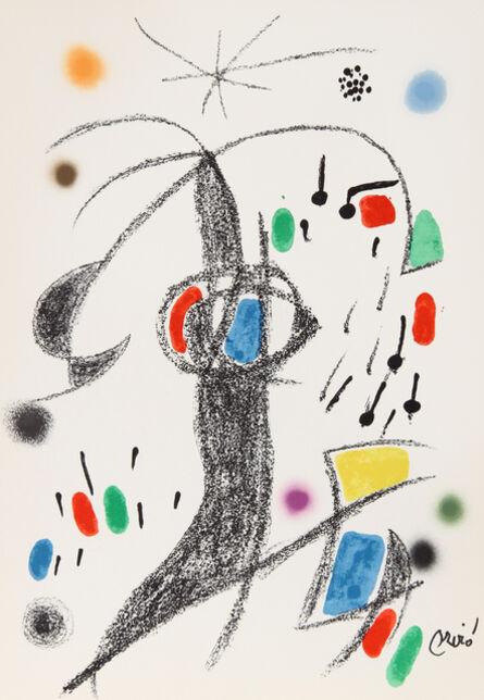 Joan Miró, 'Maravillas con Variaciones Acrosticas en el Jardin de Miro, Number 21', 1975