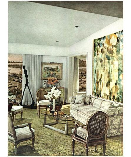 Martha Rosler, 'House Beautiful: Giacometti', 1967-1972
