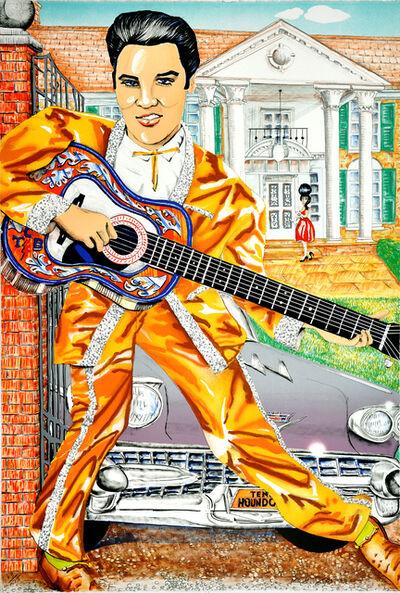 Red Grooms, 'Elvis', 1987