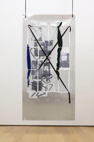 Yorgos Sapountzis, 'Reklame Athens Screens - blue green', 2014