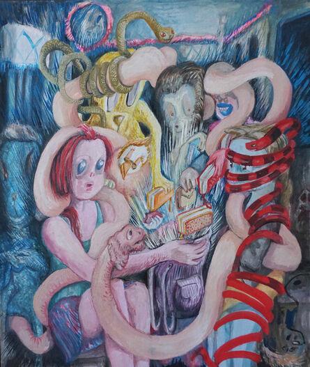 Mónica Heller, 'El capital serpiente', 2019