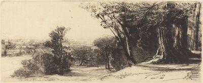 Francis Seymour Haden, 'Early Morning - Richmond', 1859