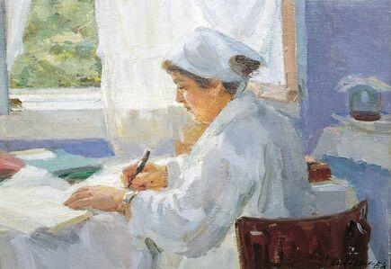 Abram Moseevich Kharkovsky, 'Nurse', 1954