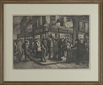 "Glenn O. Coleman, '""The Bowery""', 1928"