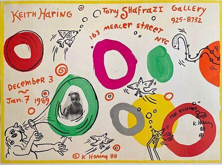 Keith Haring, 'Original Radiant Baby Drawing ', 1988