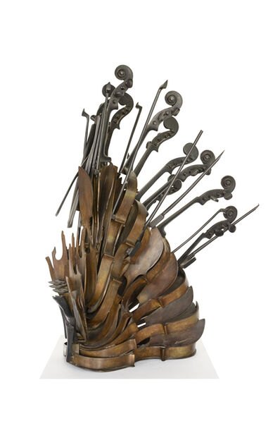 Arman, 'Violin in Cascade ', 2004