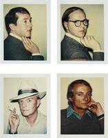 Andy Warhol, 'Gilbert & George, Truman Capote, Roy Lichtenstein', 1975-1981