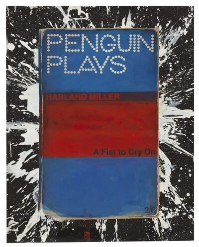 Harland Miller, 'A Fist to Cry On', 2011