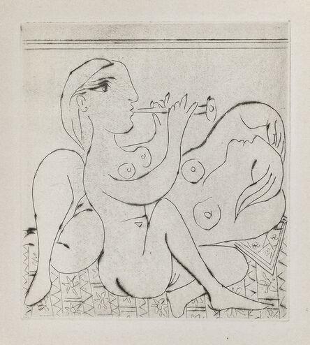 Pablo Picasso, 'Flutiste et dormeuse', 1933