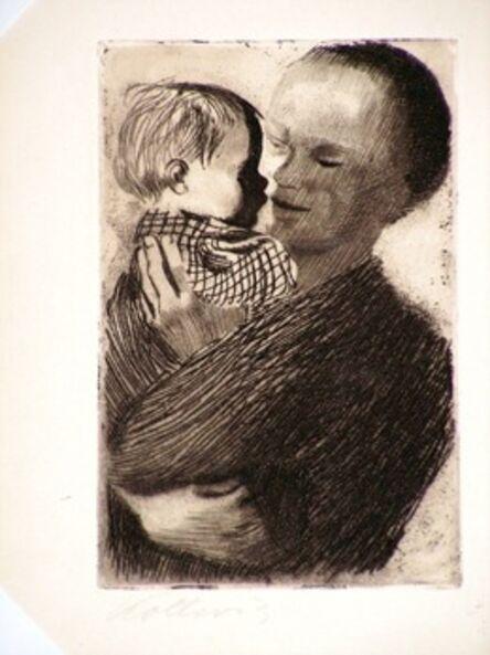 Käthe Kollwitz, 'Mutter mit Kind auf dem Arm  (Mother with a Child in her Arm)', 1910