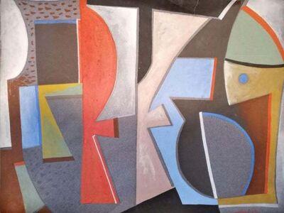 Piero Dorazio, ' Italian Abstract Work on Paper Color Field Non-Objective European Mid-Century', 1949