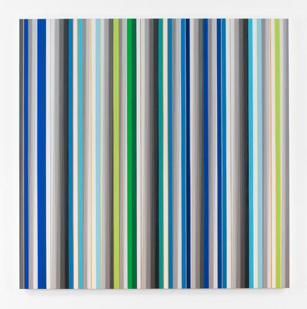 Gabriele Evertz, 'Blue+Green (Tikkum Olam)', 2015
