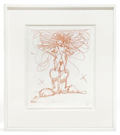 Claes Oldenburg, 'Boot Fairy (First state color 4) framed', 1979