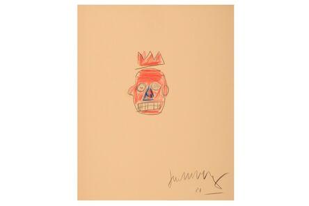 Jean-Michel Basquiat, 'Untitled (Portrait With Crown)', 1981