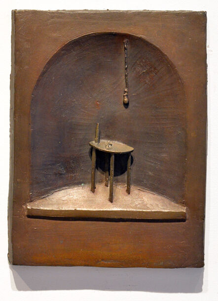Thomas McAnulty, 'Kitchen Table with Hanging Light in Niche'