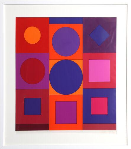 Victor Vasarely, 'Granat', circa 1967