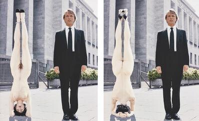 Vanessa Beecroft, 'Vogue Hommes (Vogue Men), from Double Exposure', 2001/02