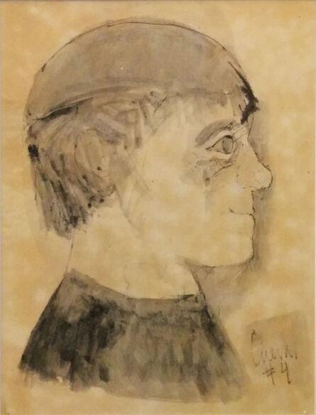 Jose Luis Cuevas, 'PORTRAIT (UNKNOWN TITLE)', UNKNOWN