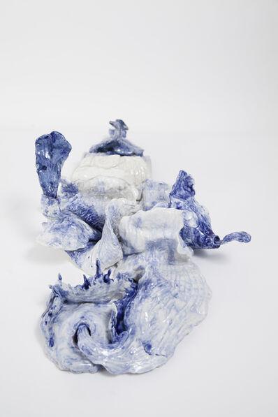Brígida Baltar, 'As lambidas do mar', 2017