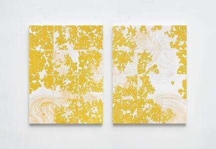 Evan Robarts, 'Pulling Away (Diptych)', 2020